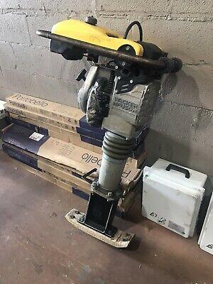 Wacker Neuson Jumping Jack Tamper Narrow Foot Pad With Extention.