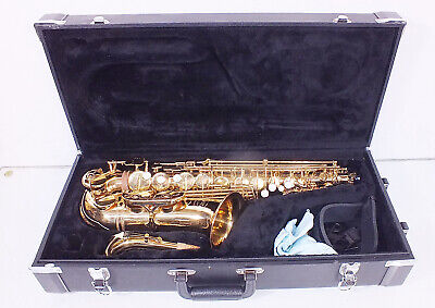 Jupiter JAS 769-767 Alto Saxophone in Good Playable Condition with Case (3)