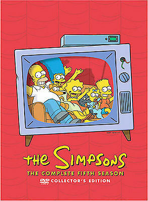 The Simpsons - The Complete Fifth Season collector's ed [DVD] [1993]