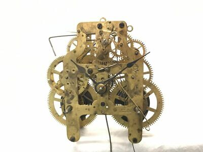 Seth Thomas Clock Co. 5 7/8 Time & Strike Clock Movement for Parts | 22837