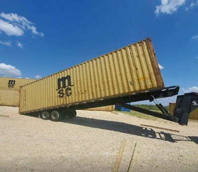 40' shipping container | includes delivery in New Braunfels area