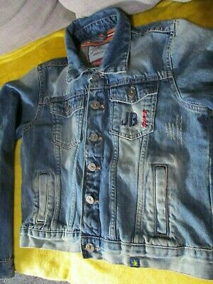 Boys designer joe browns Denim Jacket Age 9-10 11 Yrs