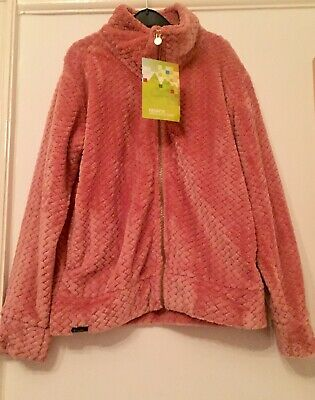 Regatta Girls Pink Zip Up Cosy Cardigan/Jacket. Aged 13. New With Tag.