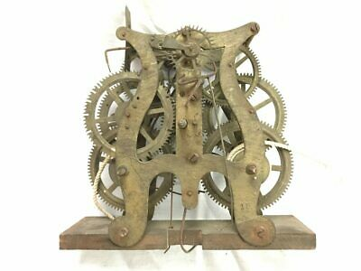 Early Seth Thomas Weight Driven Lyre Clock Movement for Parts | 22925