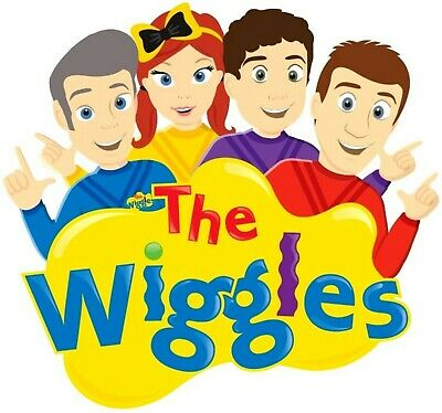 The Wiggles - Iron On Transfer For Costume Dress Up (Any Colour Fabric)