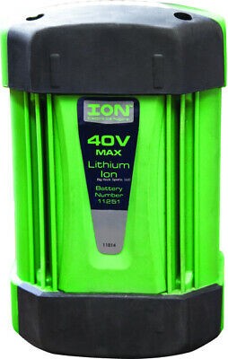 New ION Ice Auger Replacement Battery 40V Max Battery Pack Gen 1 11736