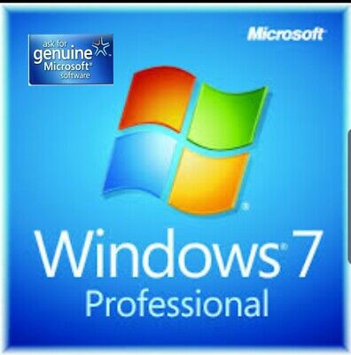 Windows 7 professional key/clave 100% Original 32/64 bits Multilenguage