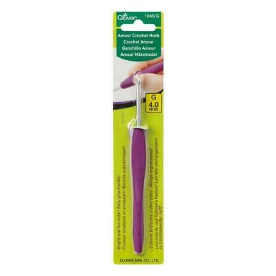 Clover Amour Crochet Hooks Various Sizes From -2.0Mm-6.5Mm