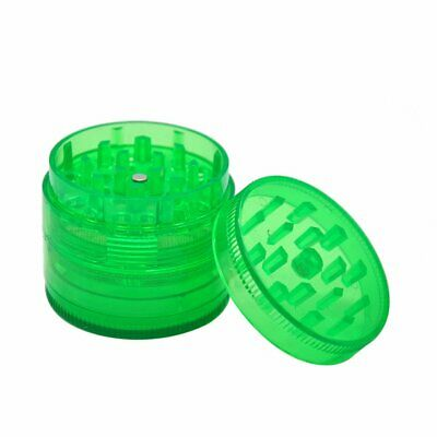 Plastic 4 Layers Hand Muller Herb Smoke Tobacco Smoke Grinder Crusher Grinding F