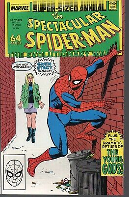 Spectacular Spider-Man annual 8    Gwen Stacy   Marvel 1988