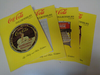 Coca-Cola Collectibles Books - Volumes 1 to 4 Shelly and Helen Goldstein