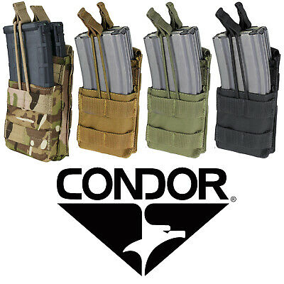 Condor MA42 MOLLE PALS Modular Double Rifle Magazine Mag Pouch - ALL COLORS