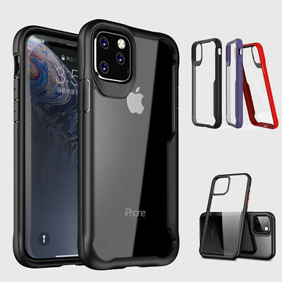 Clear Heavy Duty Shockproof Case Cover for iphone 11 XR Armor Bumper Hard Gel