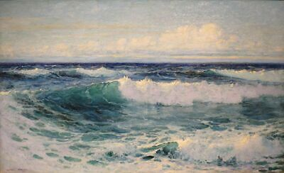 ZWPT1362 fine ocean seascape view handmade painted oil painting art on Canvas