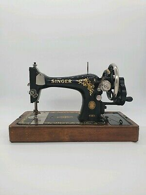 Singer 128K Vintage Antique Sewing Machine 1958 Collectable Working UK