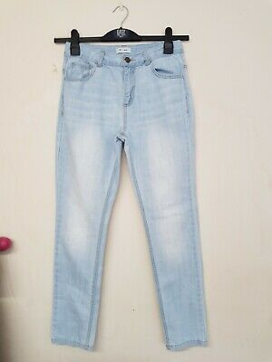 boys light blue slim leg jeans by La Roudette age 14 yrs worn once