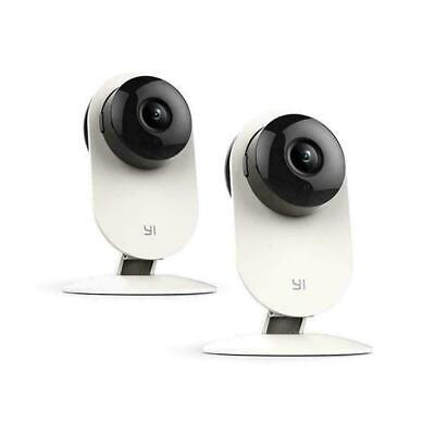 YI Family 2pcs Home Camera 720p Wireless IP Security System Android App
