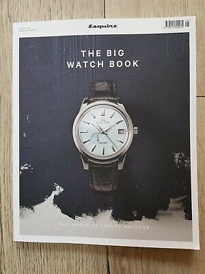 Esquire The Big Watch Book magazine #5 2019 World of Luxury Watches Grand Seiko