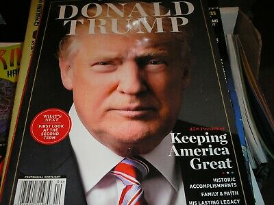 DONALD TRUMP  keeping america great  magazine   98 pgs of the Donald  2019  B-16