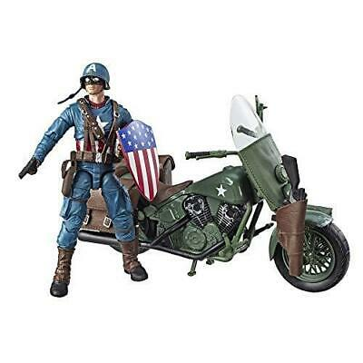Marvel Legends Series 6-Inch-Scale Captain America Collectible Action Figure...