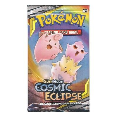 Pokemon Cards - Sun & Moon Cosmic Eclipse - Booster Pack (10 Cards) - New