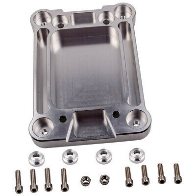 Billet Aluminium Shifter Box Base Plate Adapter for Honda Civic Integra K20 K24