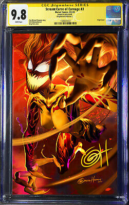 Pre-Sale: Scream Curse of Carnage # 3 CGC 9.8 Cvr C Signed by Greg Horn
