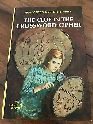 """NANCY DREW #44 • """"THE CLUE IN THE CROSSWORD CIPHER"""" • Format 17 • VERY EARLY!"""