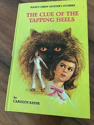 """NANCY DREW #16 •""""THE CLUE OF THE TAPPING HEELS"""" •Format 18 •MATTE •REVISED TEXT"""