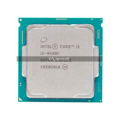 Intel Core i5 9400F 2.9GHz Six-Core 6 Thread 65W 9M SRF6M Processor LGA 1151 CPU