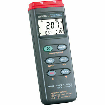 Voltcraft K202 Digital Thermometer 2 Channel
