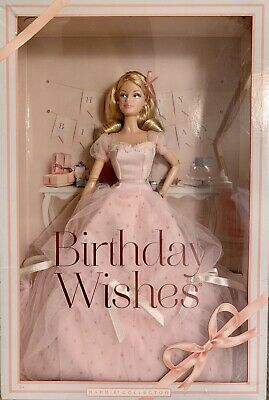 Barbie Doll Birthday Wishes 2012 NRFB