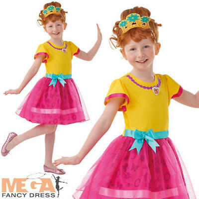Fancy Nancy Clancy Girls Fancy Dress Disney World Book Day Week Kids Costume Eur 21 40 Picclick It