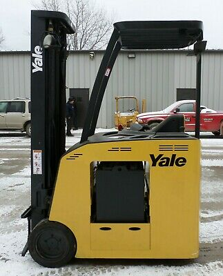 Yale Model ESC040FA (2008) 4000 lbs Capacity Great Electric Docker Forklift!!!!!