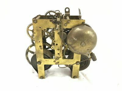 Sessions Brass Chiming Mechanical Clock Movement for Parts | ref 22928