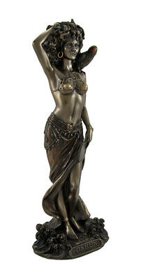 Bronzed Oshun Goddess of Love, Marriage, and Maternity Statue