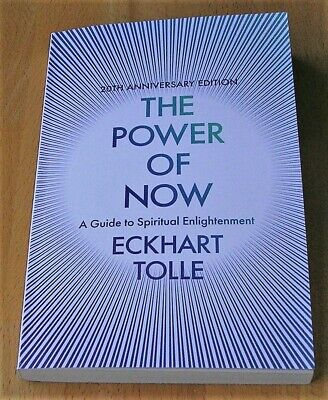 20th Anniversary Edition The Power of Now:A Guide to Spiritual Enlightenment NEW