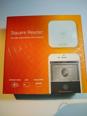 New (Open Box) Square Contactless Credit Card and Chip Reader - White