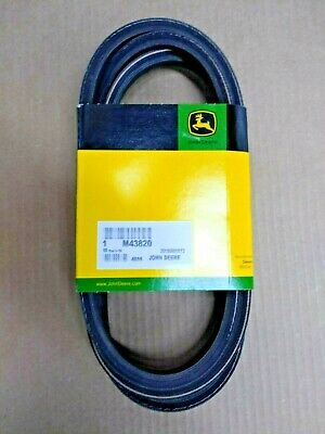 "JOHN DEERE Genuine OEM Secondary Mower Deck Belt M43820 42"" 42C LX GT GX SERIES"