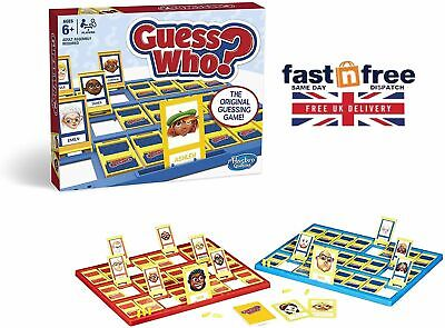 Board Game Guess Who Kids - Hasbro Classic Games, Fun Cards Play Set BRAND NEW