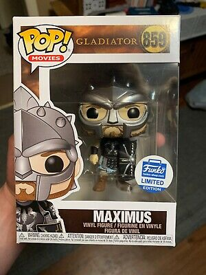Gladiator Maximus With Helmet #859 FunkoShop Exclusive Funko Pop IN HAND NEW