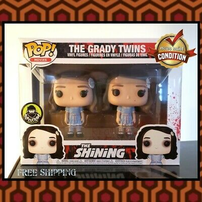 Funko POP Movies The SHINING The GRADY TWINS 2~Pack Target/Popculture *MINT COND