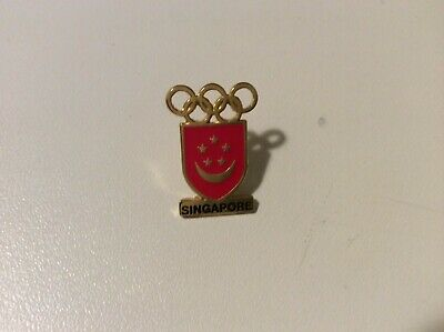 Lausanne 2020  Youth Olympics Singapore Noc Pin
