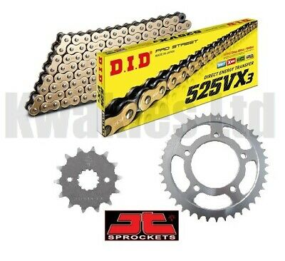 Tool Yamaha MT-09 MT-09 Tracer 14-18 DID /& JT Chain And Sprocket Kit