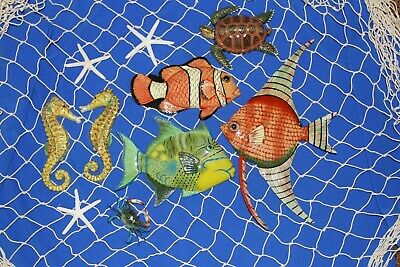(11) Seafood Restaurant Decor Coral Reef Netscape Deluxe Set Reef Harbor