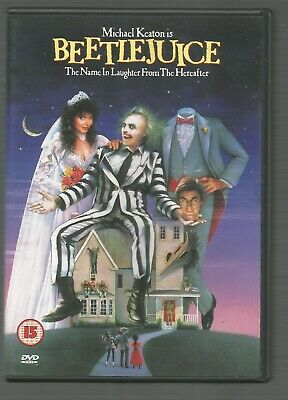 BEETLEJUICE - Michael Keaton - UK REGION 2 DVD