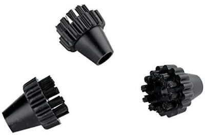 Polti Vaporetto Black Nylon Brushes for Eco Pro 3.0 and Classic Steam Cleaners