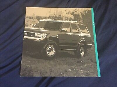 1994 Toyota 4Runner large Prestige Color Brochure Catalog Prospekt