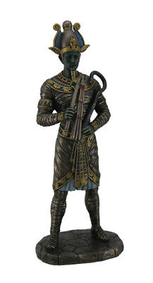 Osiris Ancient Egyptian God of the Dead Bronze Finished Statue