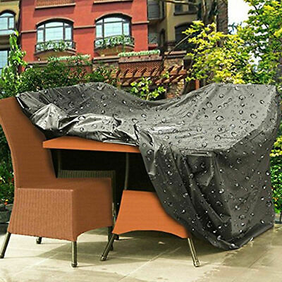 Heavy Duty Premium UK Waterproof Rattan Cube Cover Outdoor Garden Furniture Rain